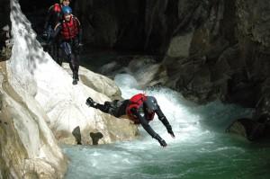 Foto sport ossi -Wildwasserschwimmen mit ossi stock (Groß)