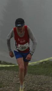 Kurt auf den letzten Metern ins Ziel 2008