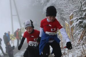Lukas und Daniel 2014 Kolsassberglauf 5